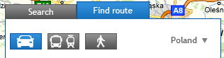 find route